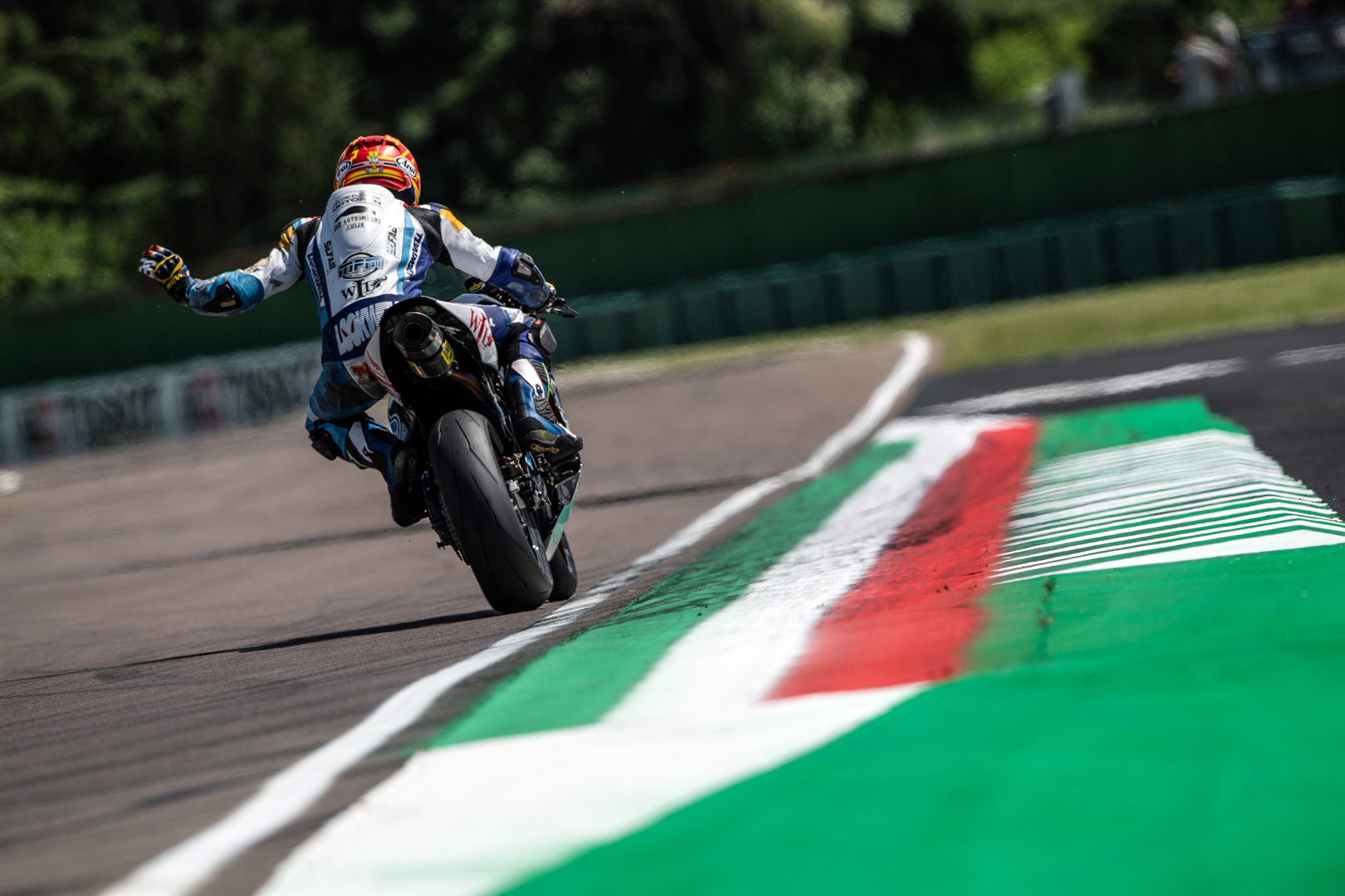 Jaimie van Sikkelerus - World Supersport Imola 2019